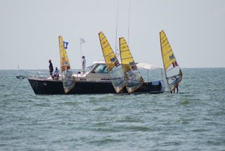 ARG and VEN qualified in Male and BRA and ARG in Female RS:X class
