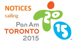 Notices to competitors of the 2015 Pan Am Games